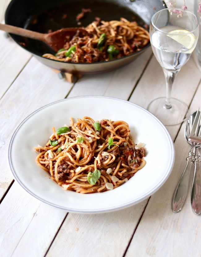 The best spaghetti pasta bolognese